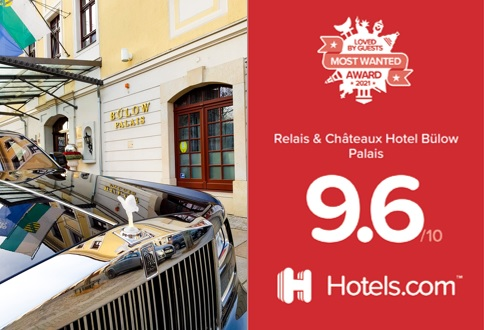Hotel Buelow Palais - Loved by Guests 2021 -Most Wanted- Award